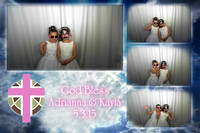 Adrianna & Kaylas Communion Photobooth 5.3.15